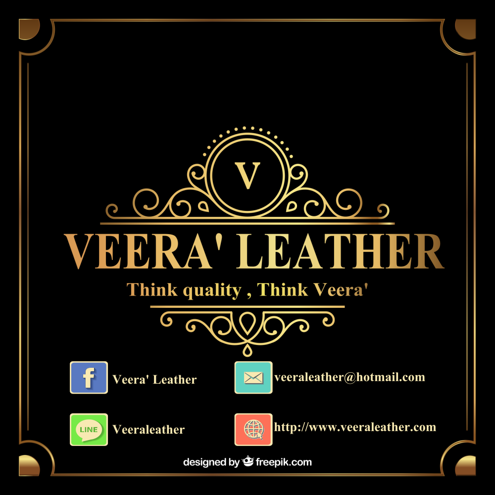 VEERA' Leather เข็มขัดหนัง กระเป๋าหนัง