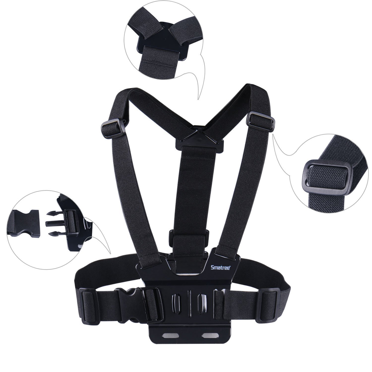 Smatree Chest Mount for Action camera