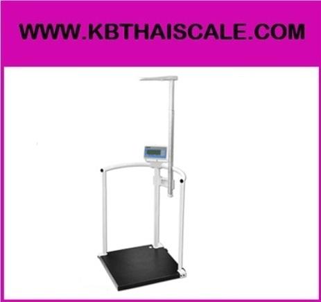 ตาชั่งน้ำหนักคน เครื่องชั่งน้ำหนักบุคคล เครื่องชั่งดิจิตอลพร้อมชุดวัดส่วนสูง พิกัดกำลัง200kg ละเอียด 0.1kg ชุดวัดส่วนสูง77-210cm NAGATA รุ่น BW-1430HM-R