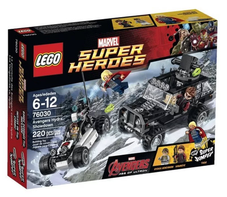 Lego LEGO Superheroes Avengers Hydra Showdown 76030