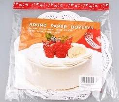 กระดาษรองเค้ก กระดาษดอลลี่ 36แผ่น BAKE122