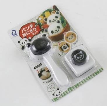 แม่พิมพ์ซูชิ ข้าวปั้น หมีแพนด้า BAKE202