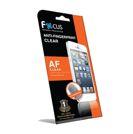 โฟกัสฟิล์มลดรอยนิ้วมือแบบใส (FOCUS ANTI-FINGERPRINT CLEAR) Apple iPhone 4/4s