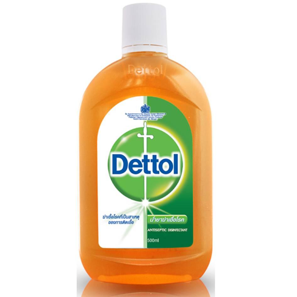 เดทตอล น้ำยาฆ่าเชื้อโรค ตัวยาคลอโรไซลีนอล 500 มล.