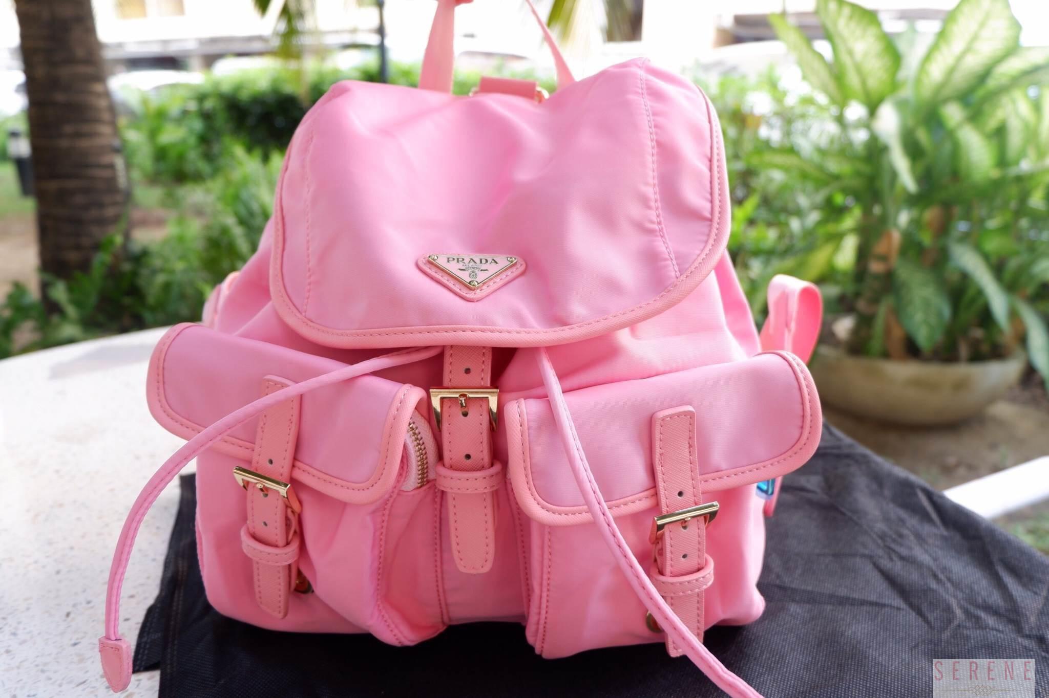 กระเป๋าเป้ PRADA รุ่น Limited edition