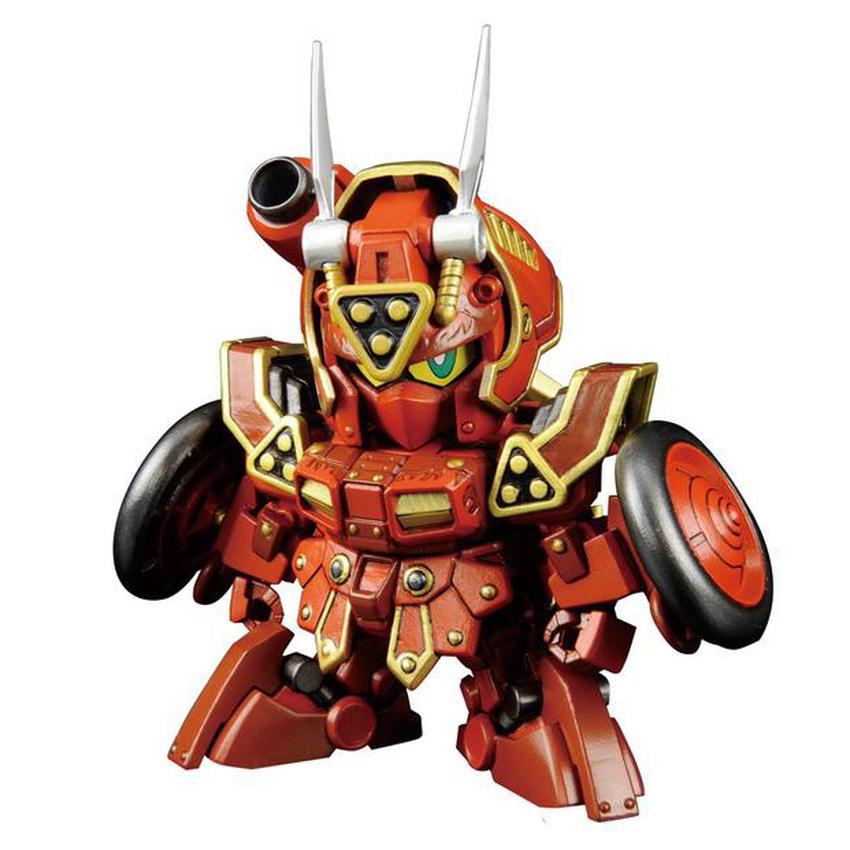 Bandai SD Kurenai Musha Red Warrior Amazing Gundam