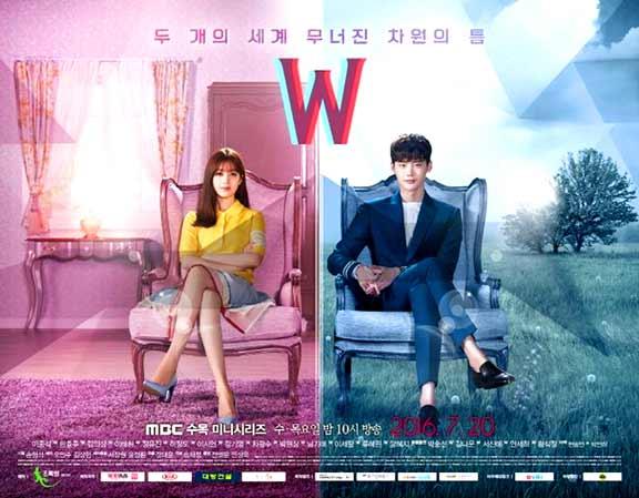 DVD W Two Worlds (รักข้ามมิติ) 4 แผ่น ซับไทย คิม ลีจุงซอก + อันฮโยจู สนุกคะ