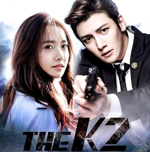DVD The K2 4 แผ่น ซับไทย ยุนอา + จีซางวุค