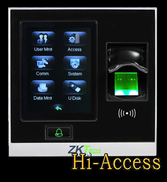 เครื่องสแกนลายนิ้วมือ ยี่ห้อ ZK Teco รุ่น SF400 (ระบบ Access Control)