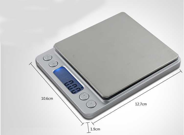 เครื่องชั่งดิจิตอล พกพารุ่นใหญ่ 500g ความละเอียด 0.01g SCL262