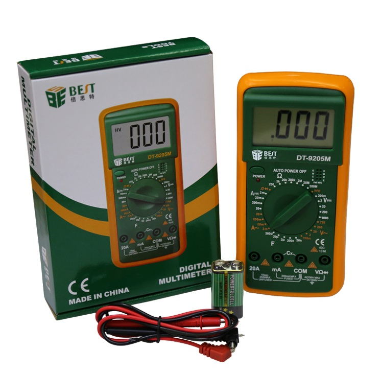 Digital Multimeter (DT-9205M)