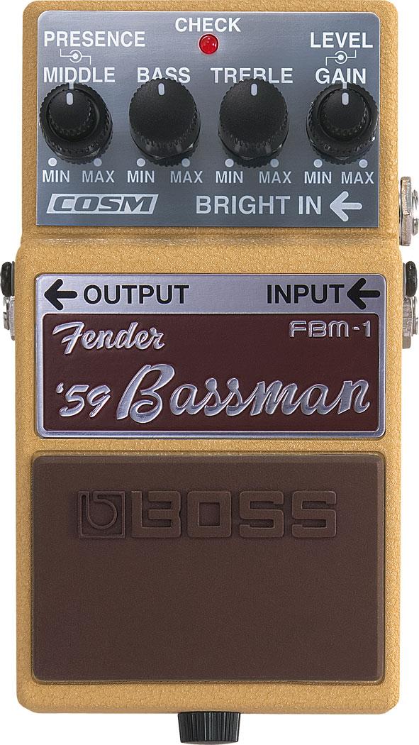Boss FBM-1 Fender Bassman Pedal