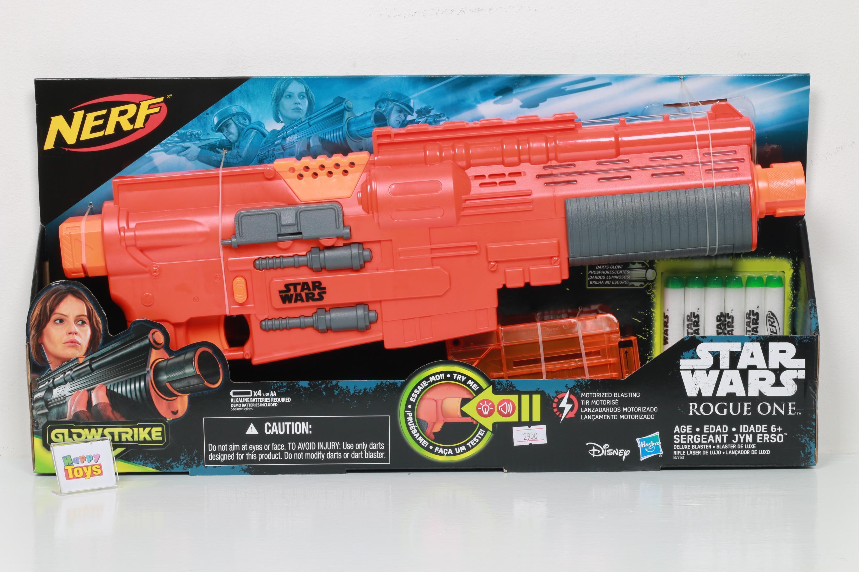 ปินเนิร์ฟ รุ่น Star wars Rogue one ปืนNrefยิงอัตโนมัติ ปืนSter wars