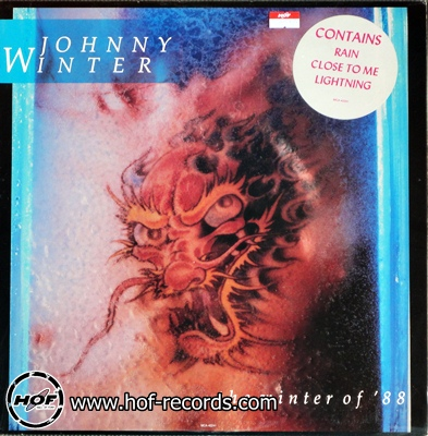 "johnny winter - the winter of ""88 1lp"
