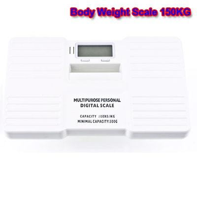 เครื่องชั่งน้ำหนักบุคคล เครื่องชั่งน้ำหนักคน ขนาดพกพา Portable Digital Bathroom Body Weight Scale 150KG/100g