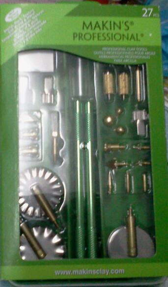 Makin's professional clay tools kit 27 pcs