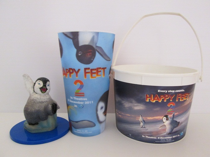 Set : Happy Feet [แก้วกับฝาคนละรุ่น]