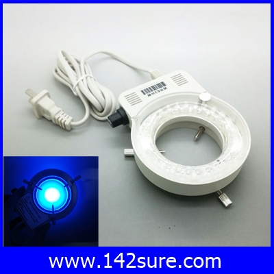 LER017 ไฟวงแหวน 56LED Ring Light ไฟวงแหวนกล้องMicroscope LED Ring Light Blue Light Microscope Light 56pcs