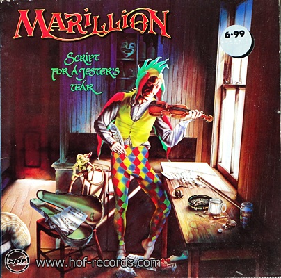 Marillion - Script For A Jester's Tear 1983 1lp