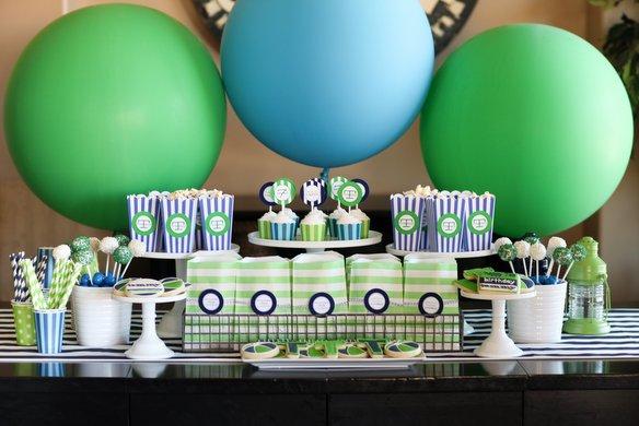 """ลูกโป่งจัมโบ้ สีเขียว ขนาด 24 นิ้ว - Round Jumbo Balloon Green 24"""""""