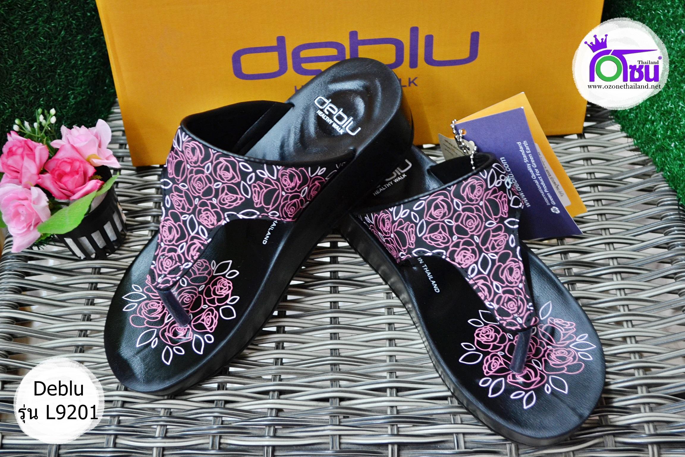 รองเท้า Deblu เดอบลู รุ่นL9201 สีชมพู เบอร์ 36-41