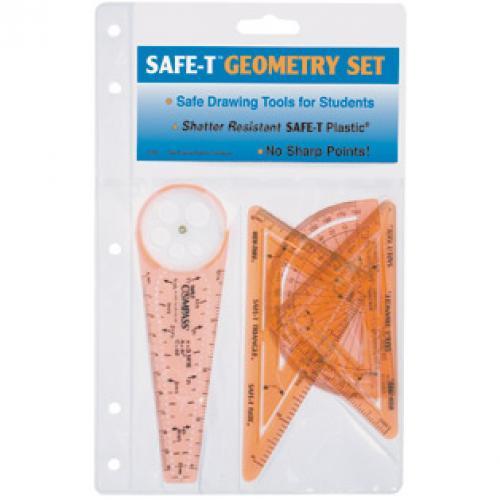 เครื่องเขียน อุปกรณ์การเรียน SAFE-T Geometry Set (Medium)