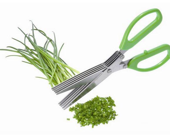 กรรไกรซอยผัก สำหรับโรยหน้าอาหาร DE XIAN 602