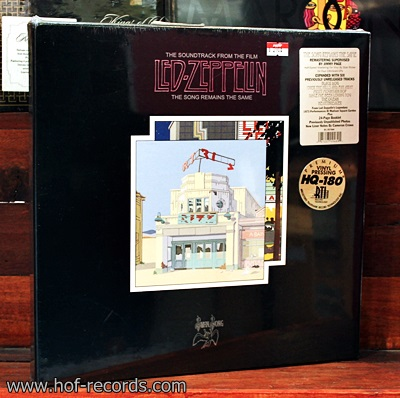 Led Zeppelin - The Song Remains The Same Live Boxset 4Lp N.
