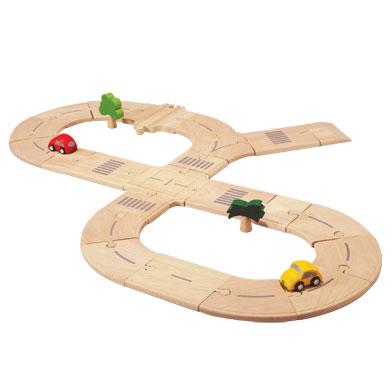 ของเล่นไม้ ของเล่นเด็ก ของเล่นเสริมพัฒนาการ Road System (Standard) ระบบถนนธรรมดา (ส่งฟรี)