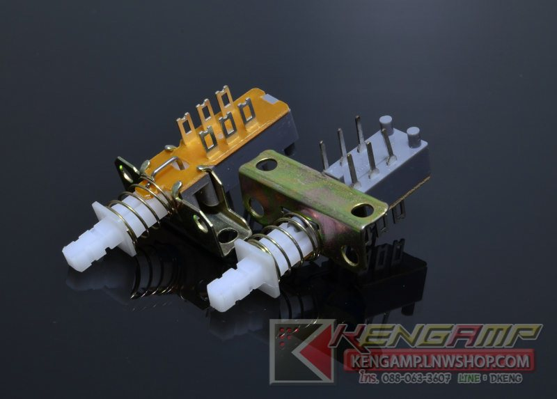 Push Switch DPDT 3x2M