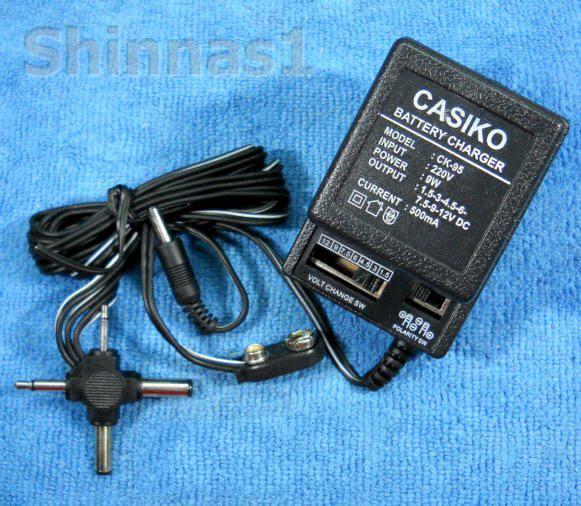 อแด็ปเตอร์แปลงไฟบ้าน 220 v เป็นไฟตรง 1.5-12 v
