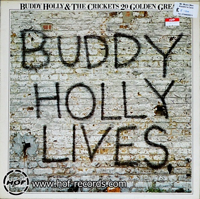 buddy holly - lives 1lp
