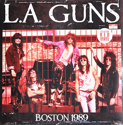 L,A. GUNS - Boston 1989 N.
