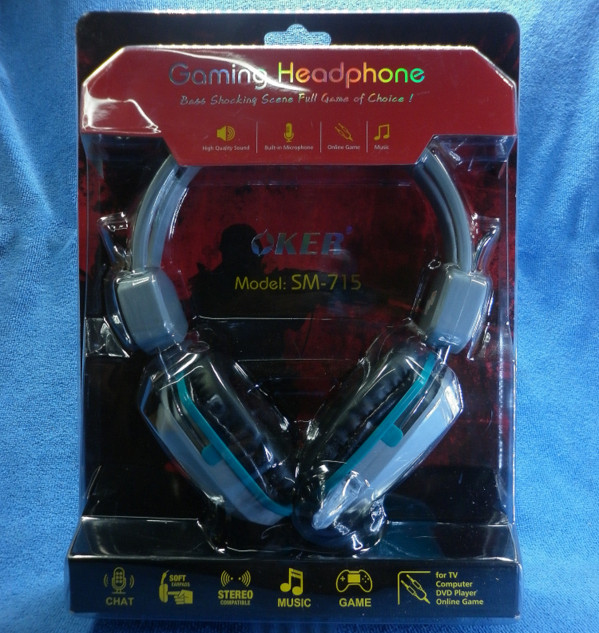Gaming Headphone OKER SM-715