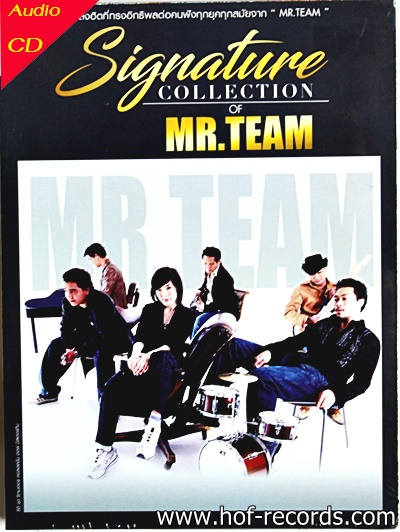Cd Mr.Team - Signature collection * new