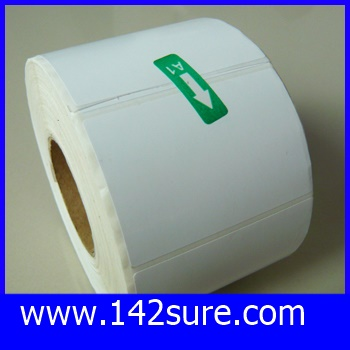 STB006 สติกเกอร์ บาร์โค้ด Label Paper 60mmX40mmX1000pcs (จำนวน1000ดวง) ยี่ห้อ OEM รุ่น 60mmX40mmX1000pcs