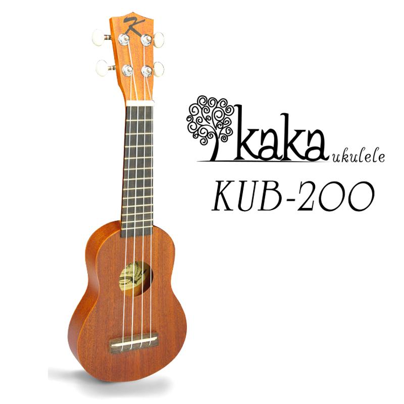 """อูคูเลเล่ Ukulele KAKA รุ่น kub-200 ไม้เซพีลลี สายอาคริล่า ไซส์พอกเก็ต มินิ 17"""""""