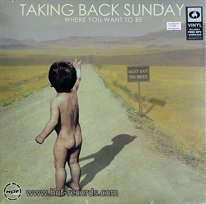 Taking Back Sunday - Where You Want To Be 1lp USA NEW