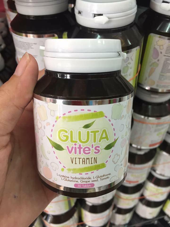 Glutavite's Vitamin กลูต้าไวท์ วิตามิน ราคาปลีก 150 บาท / ราคาส่ง 120 บาท