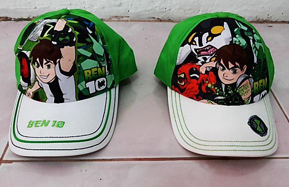 หมวก Ben 10 สินค้าลิขสิทธิ์แท้!! มี 2 แบบให้เลือก