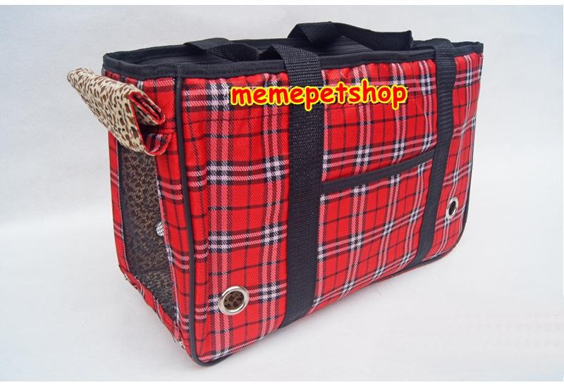 กระเป๋าน้องหมาสก็อตแดงไซด์ M