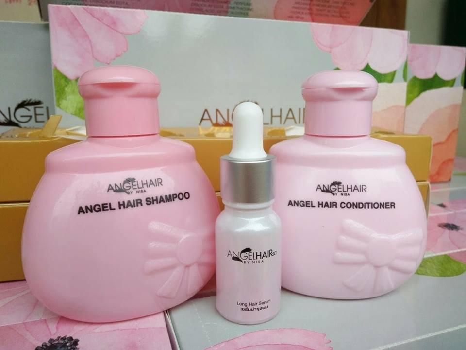 Angel Hair แชมพูนางฟ้า (ชุดใหญ่) ราคาปลีก 380 บาท / ราคาส่ง 304 บาท