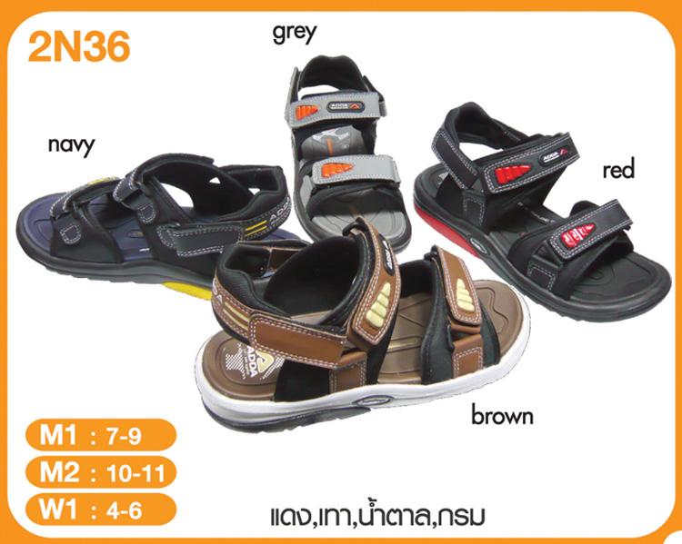 รองเท้า Adda รัดส้น รหัส 2N36 เบอร์ 4 - 9
