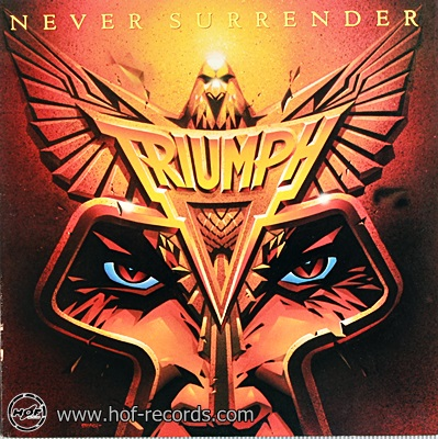Triumph - Never Surrender 1983 1lp