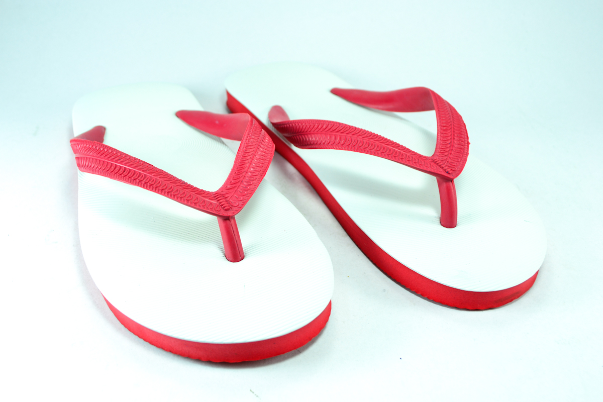 รองเท้าแตะช้างดาว เบอร์ 9,9.5,10,10.5,11 สีแดงขาว สำเนา สำเนา