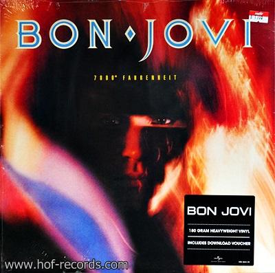 Bon Jovi - 7800 ํ Fahrenheit 1Lp N.