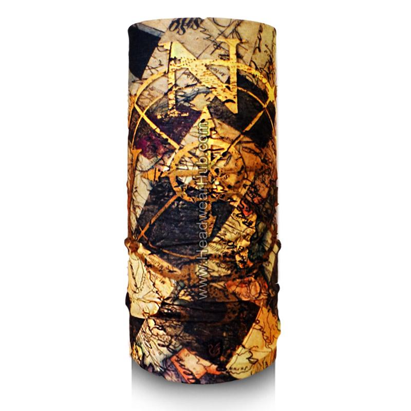 ผ้าบัฟ ผ้าโพกหัว TB513 Golden Compass