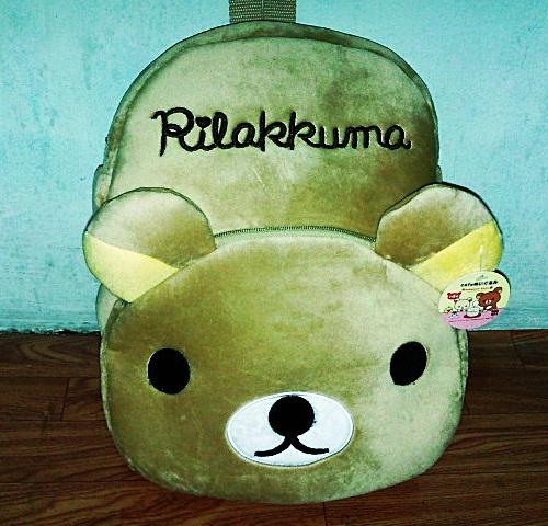 กระเป๋าเป้ Rilakkuma (มาใหม่)
