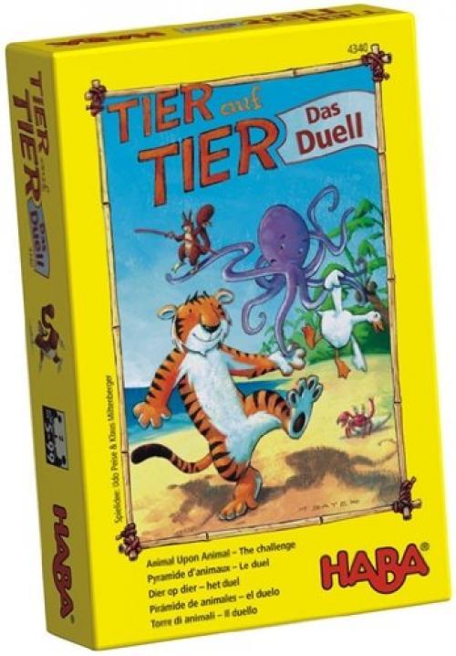 ของเล่นเด็ก ของเล่นเสริมพัฒนาการ Animal Upon Animal-The Duel