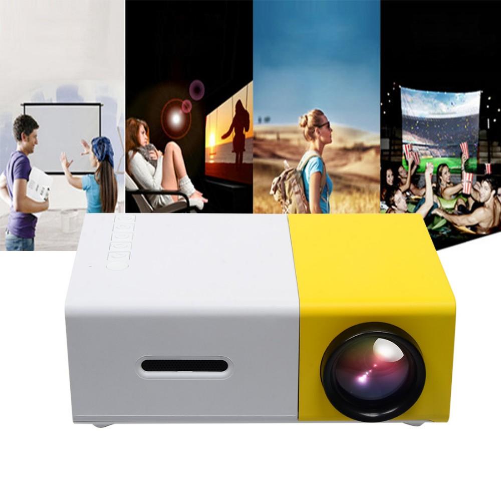 ใหม่ล่าสุด 2016 มินิโปรเจคเตอร์ขนาดพก LED Projector รองรับ USB/SD/AV/HDMI ดูหนัง ดูบอล Karaoke หรือ Home Theatre และงานพรีเซนต์ ประสิทธิภาพดีที่สุด ภาพเสียงคมชัด